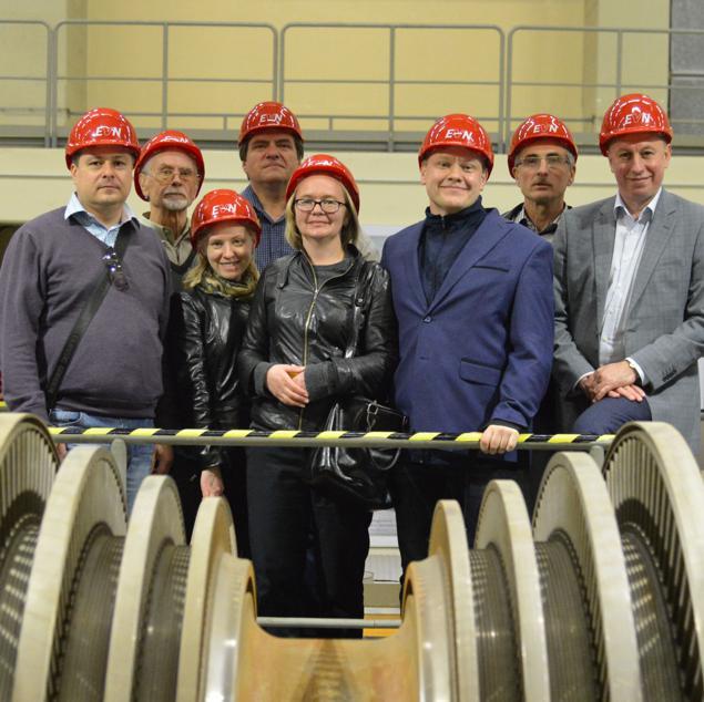 Стажировка Белорусских преподавателей-атомщиков в Вене