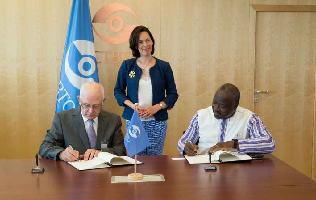 CTBTO and STAR-NET signed partnership agreementCTBTO and STAR-NET signed partnership agreement